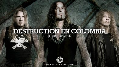 Photo of DESTRUCTION regresa a Colombia en 2016
