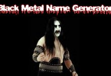 Photo of Generador de nombres al estilo Black Metal