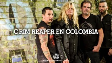 Photo of GRIM REAPER SE PRESENTARA EN COLOMBIA