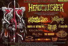 "HEADCRUSHER presenta su nuevo EP ""Black Burning Skies"""