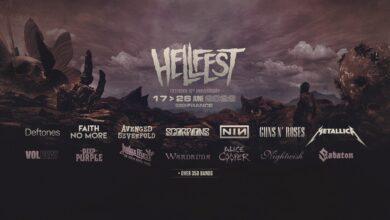 hellfest 01 390x220 - Cartel confirmado para el HELLFEST 2022, siete días y 350 bandas.
