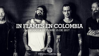Photo of IN FLAMES regresa a Colombia en 2017 – Bogotá, Octubre 15, Auditorio Mayor CUN