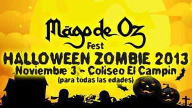 Photo of Confirmado el cartel del MÄGO DE OZ FEST Colombia Halloween Zombie 2013
