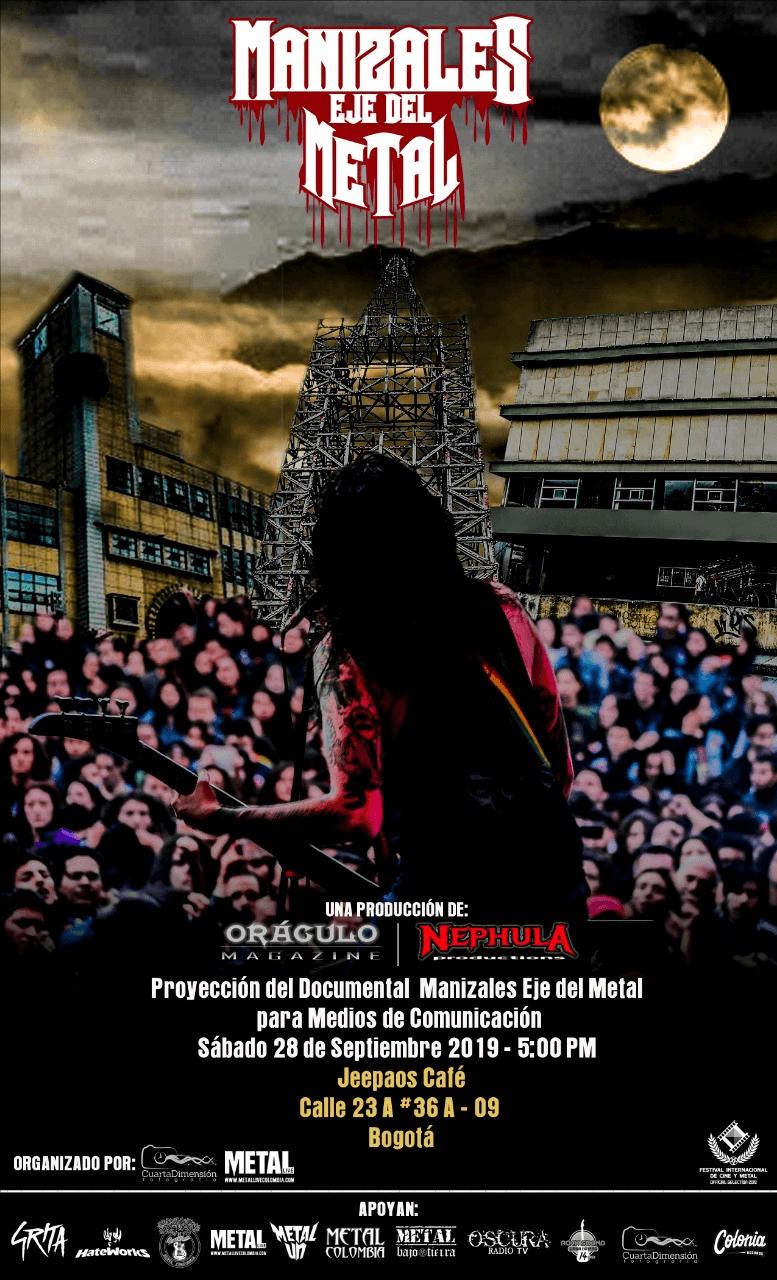 Lanzamiento Documental «Manizales Eje del Metal»