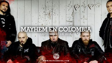 Photo of MAYHEM regresa a Colombia en 2016 – Octubre 23, Revolution Bar