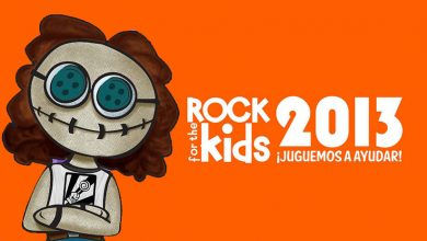 rock for the kids 2013 main 390x220 - Cartel oficial ROCK FOR THE KIDS 2013