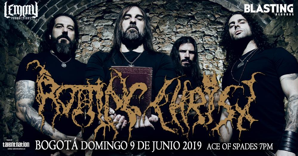 rotting christ colombia 2019 - Detalles del regreso de ROTTING CHRIST a Colombia en 2019
