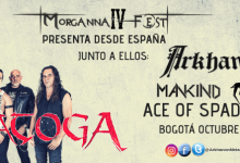 Photo of SARATOGA en Colombia encabezando el cartel del Morgana Fest 4