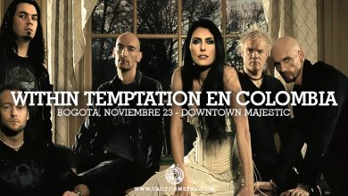 Photo of WITHIN TEMPTATION en Colombia, Bogotá Noviembre 23 DownTown Majestic